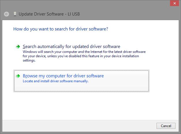 Lenz LI-USB On Windows 8 1 x64 with JMRI | Accumulative Junkie