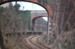 Through the arch to the station