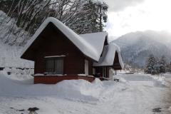 Snow at Hirayu Onsen Jan 2008