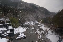 Snow at Takayama, Japan