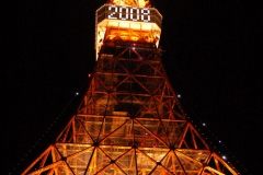 Tokyo Tower - New Year Countdown 2007-8